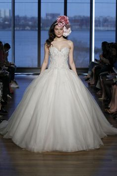 Ines Di Santo Wedding Dresses 2015 Bridal Collection. To see more: http://www.modwedding.com/2014/04/15/ines-di-santo-wedding-dresses-2015-spring-collection/ #wedding #weddings #fashion