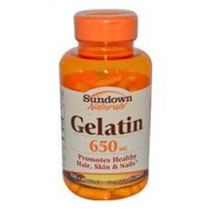 Gelatin Capsules 3/day for strong nails | xoVain