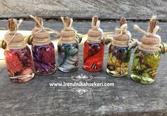 Rengarenk hediyelik kandil modellerimiz Wedding Bottles, Wedding Favours, Wedding Gifts, Handmade Crafts, Diy And Crafts, Candels, Bath Salts, Bunt, Soap