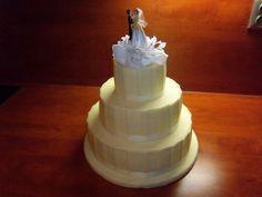 Patrový dort svatební