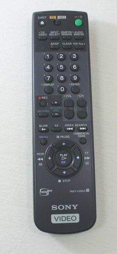 Sony Remote Control Model RMT-V292A #Sony Tv Videos, Sony, Remote, Model, Scale Model, Models, Mockup