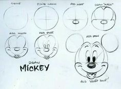 Draw #MickeyMouse