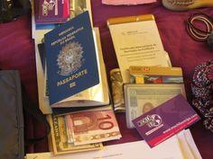 mochila volta ao mundo - documentos