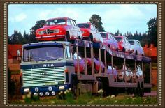 Vintage Saab-Scania Poster(image courtesy of saabplanet.com)