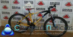 Polícia Militar recupera bicicleta furtada por menor em Campos Gerais-MG
