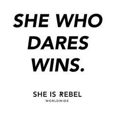 SHE IS REBEL Inspirational Quote of the day #SheIsRebel . . . . . #girlboss #freespirit #wildandfree #lifestyle #onlinestore #shoponline #onlineshopping