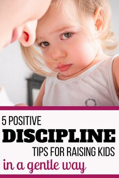 If you are looking for gentle ways to discipline young kids and to avoid punishments and time-outs, here are 5 positive discipline tools that worked really great for us! | Positive discipline for toddlers | Positive parenting at home #PositiveParenting #PositiveDiscipline #ParentingTips