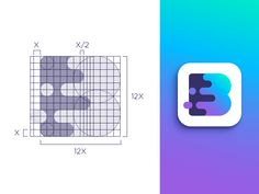 Grid Friday 2 | Logo for video and photo editing app by Vadim Carazan