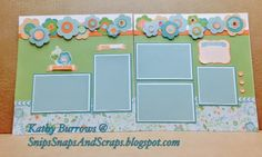 Snips, Snaps, and Scraps: May Stamp of the Month #Blossom - visit for close-up photos