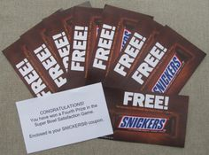 Have you played the Snickers Super Bowl Satisfaction Game?