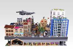 Lego Sandman   by OliveSeon