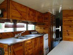 Vintage, Luxury, Travel ~ bus kitchen