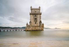 Why Portugal Is The Atlantic's Greatest Little Slice Of Heaven - via The Huffington Post 14.08.2015 | With its rich history and delicious cuisine, there's a lot to love about Portugal. But we're feeling some serious wanderlust thanks to its 750 miles of stunning coastline and Mediterranean climate -- a combo that makes a case for being some of the best beaches in all of Europe. Photo: Belem tower at sunset, Lisbon