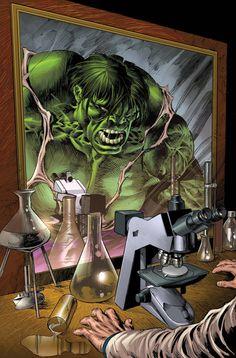 Hulk vs Bruce Banner