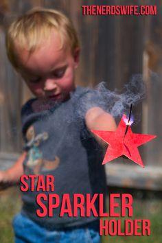 Star Sparkler Holder