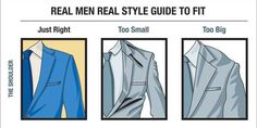 How To Determine If Your Suit Fits Properly  By: Antonio Centeno, Real Men Real Style Oct. 7, 2013,