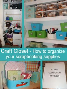 1000 images about scrapbook organizing on pinterest for Ways to organize craft supplies