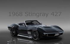 (3D 1968 Corvette Stingray 427)