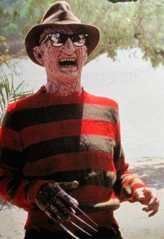 Freddy Kruger happy