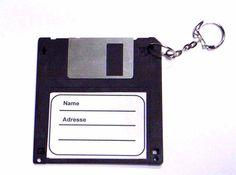 Kofferanhänger Diskette