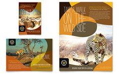 African Safari - Flyer & Ad Template