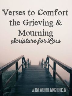 I recently suffered a loss and these verses are helping me. I am sharing this in hope of helping others going through times of grief and mourning. Scripture Quotes, Bible Scriptures, Bible Verse For Grief, Encouraging Verses, Scripture Cards, Bible Verses About Death, Bible Verses For Funerals, Words Of Comfort, Verses For Comfort