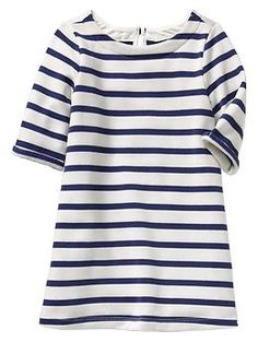 Anastasia looks great in this dress!  Striped terry dress | Gap