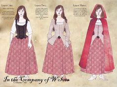 In the Company of wolves - costume study by Rachyf1.deviantart.com on @deviantART