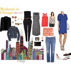 """Long Weekend in Chicago Packing List"" by allwomentravel on Polyvore"