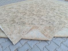 Extra Long Runner Rug, Long Runner Rugs, Small Area Rugs, Hand Knotted Rugs, Persian Rug, Vintage Rugs, Neutral Rug, Carpet