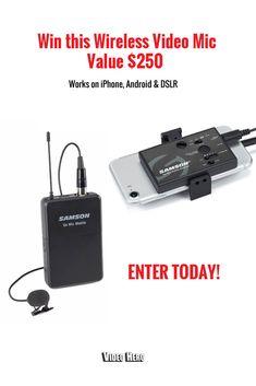 Win a 'Go Mic Mobile' Wireless Microphone! http://win.stellasarmiento.com/ref/lW11710357