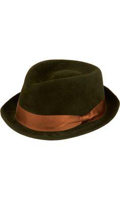 ROD KEENAN brown hat #millinery #judithm #hats