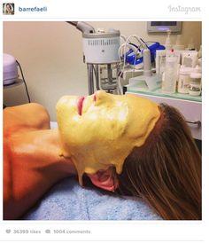 gold facial bar refaeli
