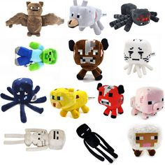 Now available!! MINECRAFT STUFF TOYS Check it out!! http://shopgeekfreak.com/products/minecraft-stuff-toys?utm_campaign=social_autopilot&utm_source=pin&utm_medium=pin #geek #shopgeekfreak - Think Geek? Shop Geek Freak!