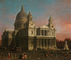 Canaletto St. Paul's Cathedral
