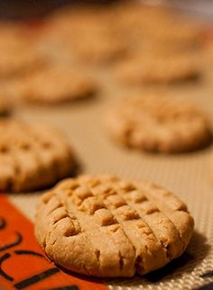 "Amber...Check these out! The previous pinner sounds like us! ""We've been craving sugar since we cant have it. This really helped. But you can tell there isnt any flour or sugar.""   Peanut Butter Cookies recipe! Low-Carb, gluten-free, sugar-free."