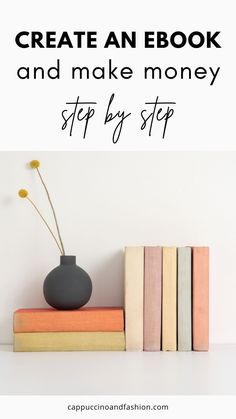 How to Create an Ebook in Canva for Free. Are you looking to create an ebook easily? This is the simple guide on how to write and create your ebook step by step in Canva. Improve Yourself, Create Yourself, Own Website, Ebook Cover, Design Elements, How To Make Money, Things To Sell, Writing, Canvas