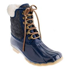 Sperry Top-Sider for J.Crew short shearwater boots ($148), an all-weather choice for whatever level of outdoor inclemency comes your way.