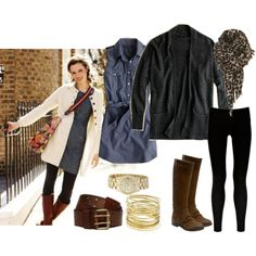 Horse Boots and Black Leggings-Pinspiration for tomorrow's outfit! (How did I dress myself before Pinterest?!?!)