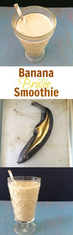 Banana Brulee Smoothie  via @tspbasil