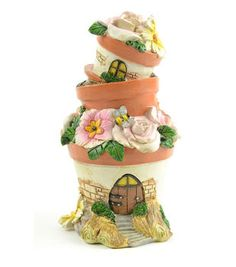 Bloom Room Littles Resin Flowerpot House