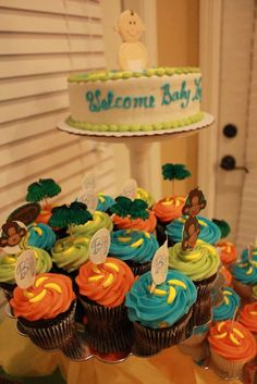 Monkeys in the Jungle Baby Shower Party Ideas | Photo 1 of 25 | Catch My Party