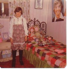 Holly Hobby, tall boots with a calico dress AND Shaun Cassidy - this girl had it ALL!
