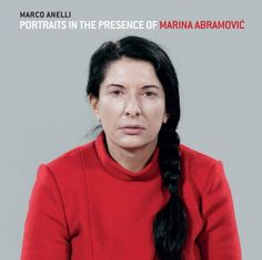 Portraits in the presence of Marina Abramovic. It's a beautiful exhibit.