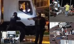 Nice terrorist is NAMED as French-Tunisian Mohamed Lahouaiej Bouhlel. The truck driver, who was known to police, was said to have shouted 'Allahu Akbar' – God is great in Arabic – before being killed in a clear suicide mission. Pro-ISIS groups have been celebrating the attack, orchestrated to coincide with France's most important national holiday.