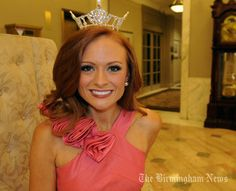 Miss Alabama Anna Laura Bryan advocates PAWS for Autism (People and Animals Working Side by Side). Maybe she gets her love for animals from her father, Decatur veterinarian Dr. Norwood Bryan.