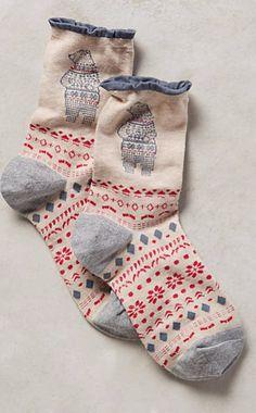 Conversation Crew Socks #anthrofave