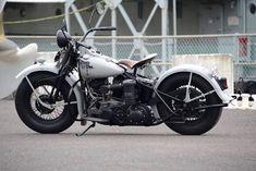 1945 US navy U Model Harley Davidson. #harleydavidsonfatboymodels #harleydavidsonfatboymotorcycles #harleydavidsonchoppersvintage