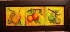 Resultado de imagen para cuadros para cocina modernos de frutas