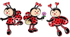 Thank you Levonda for this sweet pin and wishing you a Great Morning and Day as well! Baby Ladybug, Ladybug Party, Decoupage, Lady Bug, Ladybug Crafts, Diy And Crafts, Paper Crafts, Clip Art Pictures, Cute Clipart
